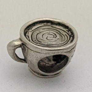 Jewelry - Love Coffee 925 Silver Charm Bead - Fits PANDORA